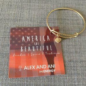 Alex and Ani America The Beautiful Bracelet NWOT